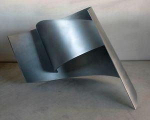 MANDORLA II 108x107x60cm. Acero inoxidable 2007